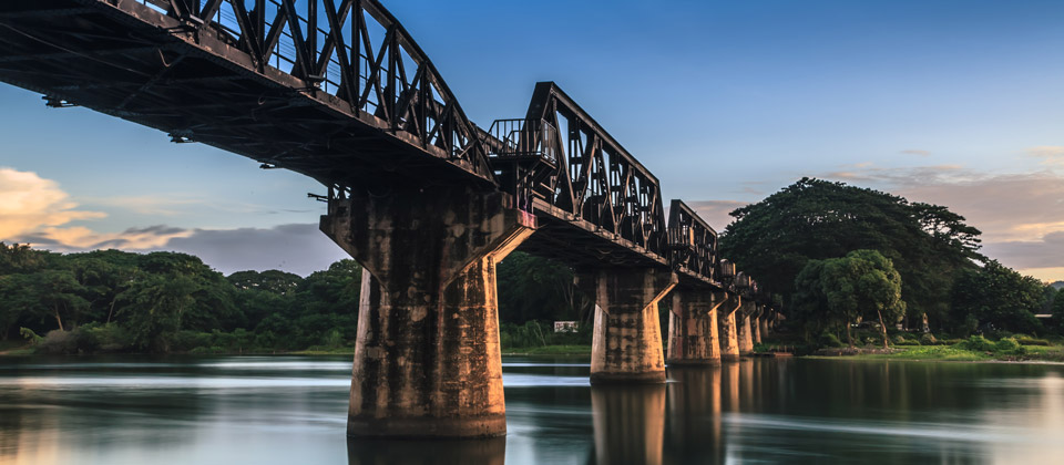 Bridge over the River Kwai / WWII museum & art gallery