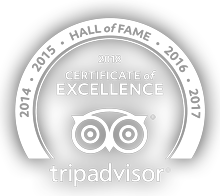 X2 Kui Buri receives Certificate of Excellence - Hall of Frame - Tripadvisor 2014-2018