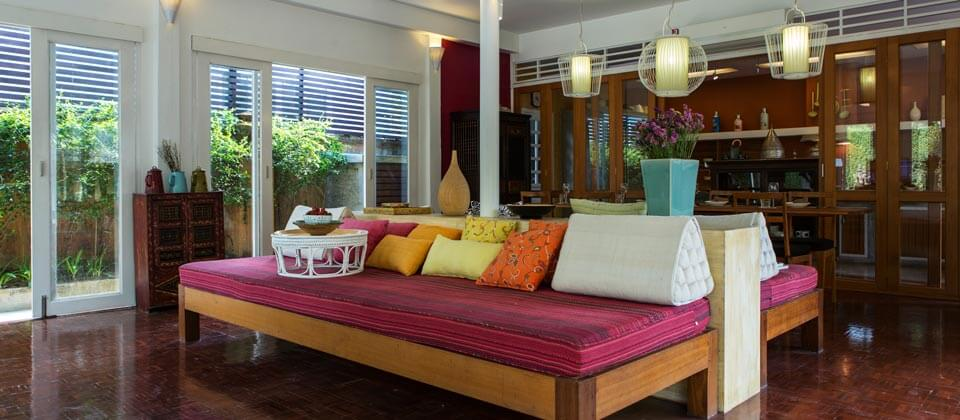 Chiang-Mai-Villa-Away-Phucome-Living-area